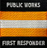 First Responder Embroidered Patch
