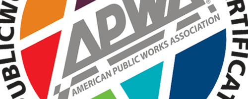 APWA Certification logo