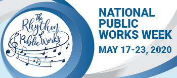 2020 National Public Works Week logo