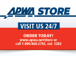 Visit the APWA Store at apwa.net/store