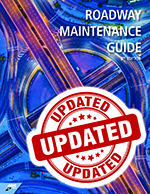 Cover of the APWA Roadway Maintenance Guide