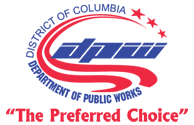 DC Dept of Public Works logo