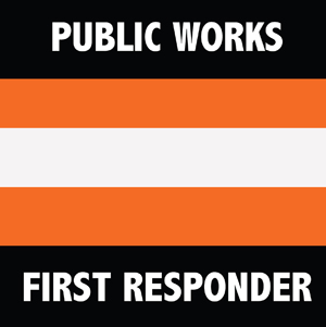 Public Works First Responder logo