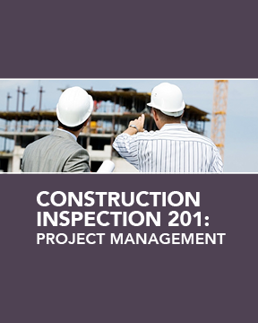 Cover image of APWA's Construction Inspection 201: Project Management